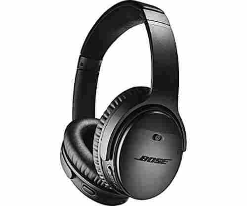 Bose QuietComfort 35 (Series II) Wireless Headphones – Noise Cancelling with Alexa Voice Control