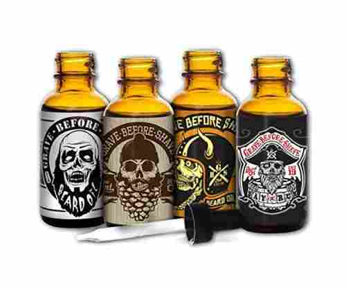 Grave Before Shave Beard Oil – 4 Pack