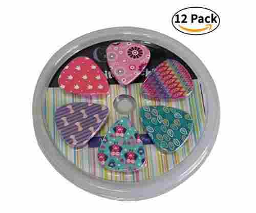Colorful & Fun Girly Guitar Picks Set