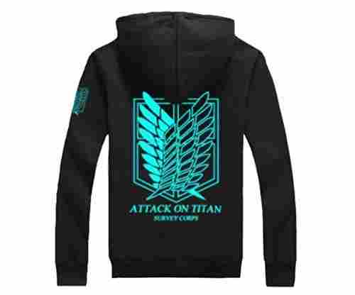 Unisex Cotton Blend Luminated Hoodie