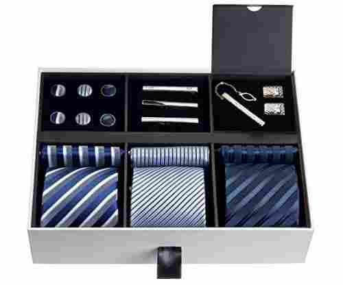 Silky Necktie Set for Men