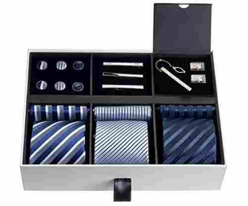 Silky Necktie Set for Men