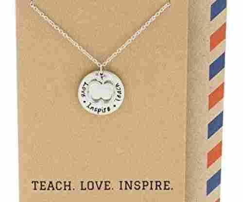 Teach. Love. Inspire Pendant Gift Envelope