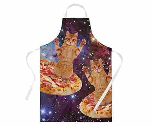 Cute Apron – Space Cat Theme