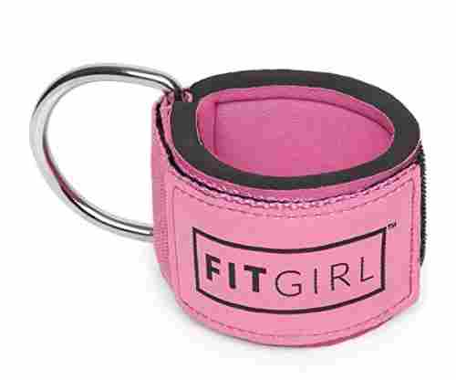 FITGIRL Fitness Padded Ankle Straps