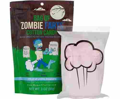 Bag of Zombie Farts Cotton Candy
