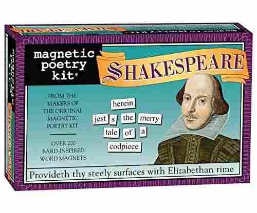 Magnetic Poetry – Shakespeare Kit Magnets for Fridges