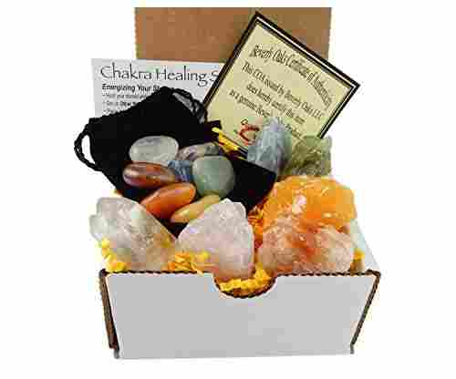 Beverly Oaks Chakra Mineral Starter Set/Crystal Healing Kit