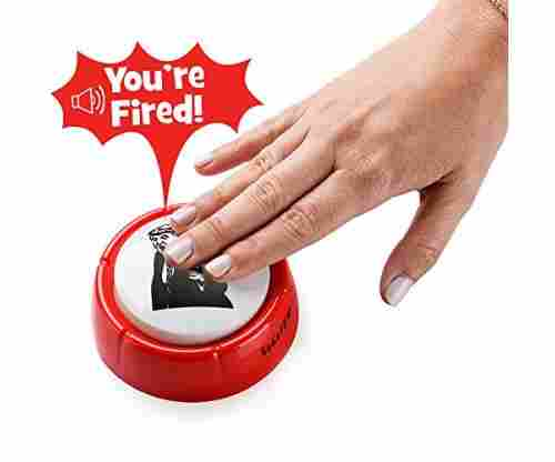 Donald Trump You're Fired Sound Button Gag Toy