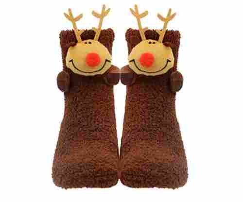 3D Animals Santa Christmas Slippers