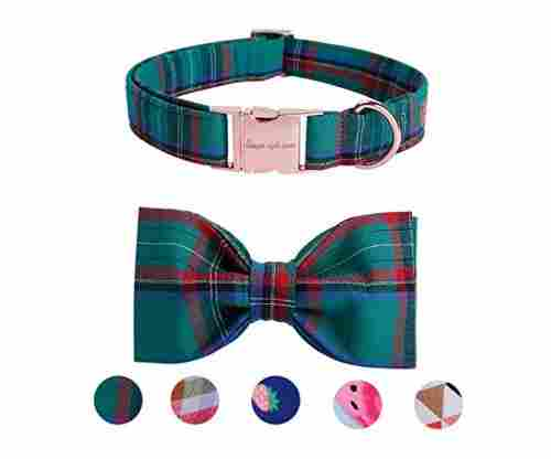 USP Pet Soft&Comfy Bowtie Dog Collar