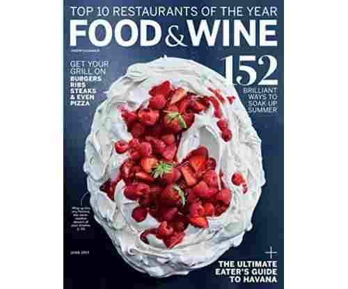 Food & Wine Magazine Subscription Gift for Foodies