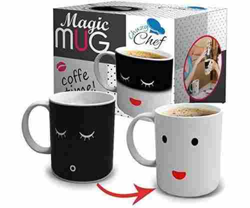 sad to Happy Face – Changing Funny Mug