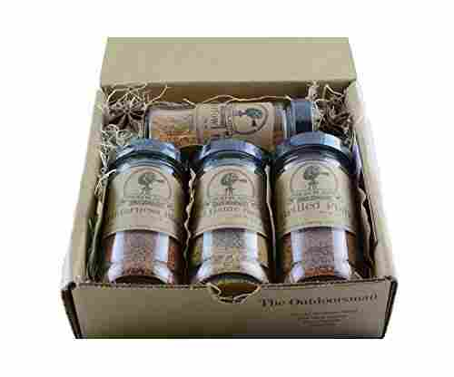 The Outdoorsman Gift Set of Four Spices