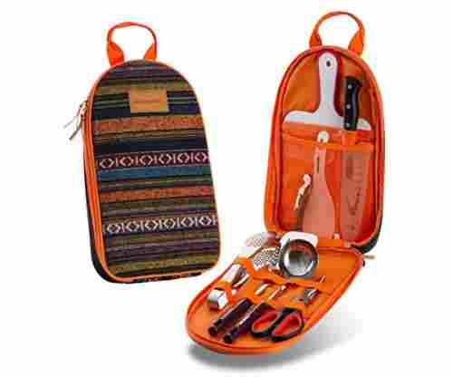 Camp Kitchen Utensil Organizer Travel Set