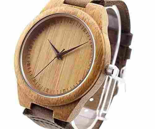 Ideashop Fashion Bamboo Wooden Watch