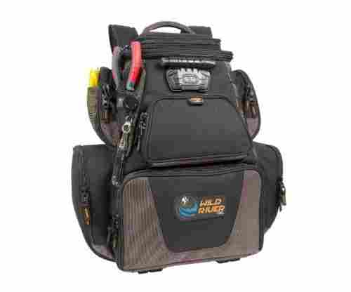 Wild River Nomad LeatherCraft Lighted Backpack with USB Charging System
