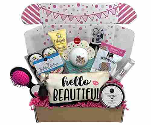 Complete Birthday Gift Basket Box
