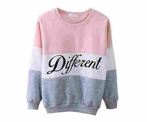 Different Printed Mix Color Hoodie