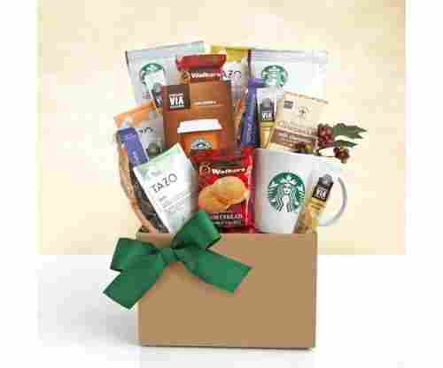 Starbucks Gourmet Fall Thanksgiving Gift Basket