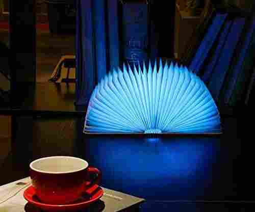 Magicfly Wooden Folding Rechargeable Book Light