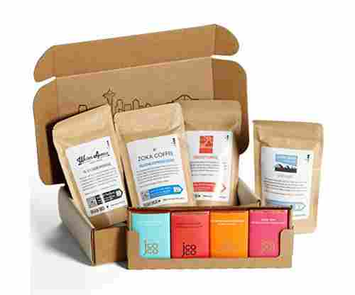 Bean Box – Coffee + Chocolate Gift Box – Ground