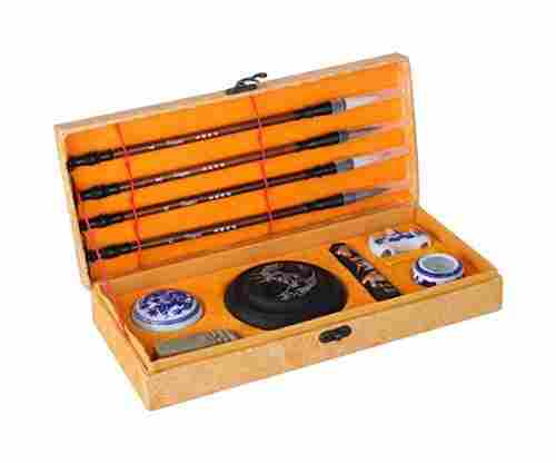 Teagas Chinese Calligraphy Sumi Brush Writing and Painting Set