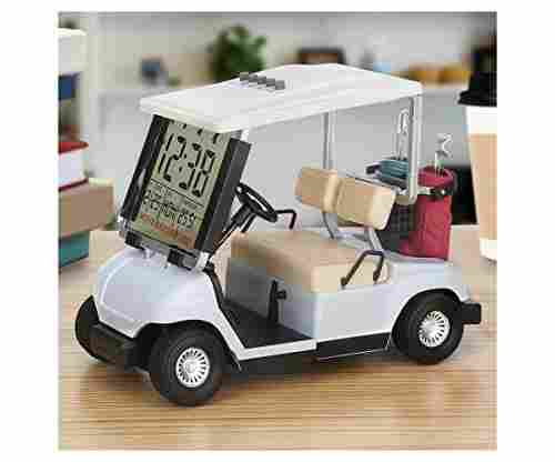 10L0L LCD Display Mini Golf Cart Clock