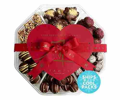 Fancy Valentine Chocolates For Gifting – Seventh Heaven Chocolate Assortment
