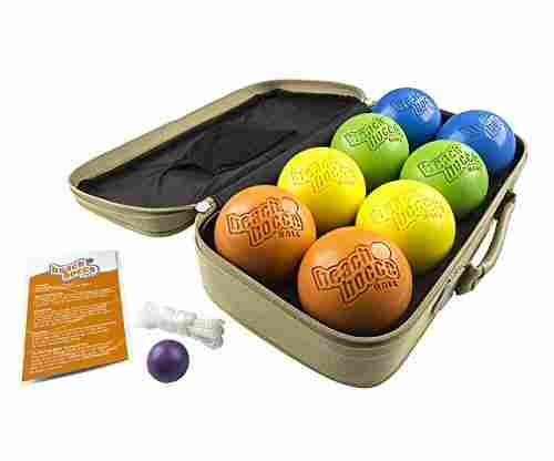 SeaTurtle Sports Beach Bocce Ball Crack and Rust Proof Set