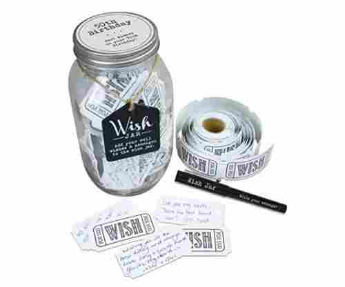 Top Shelf 50th Wish Jar Complete Kit
