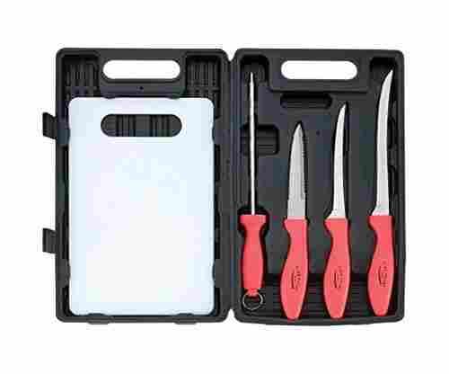 Flex Fillet 5pc Fishing Cutlery Set Fishing Knife Sharpening
