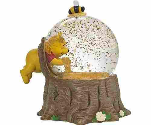 Winnie The Pooh Musical Snow Globe