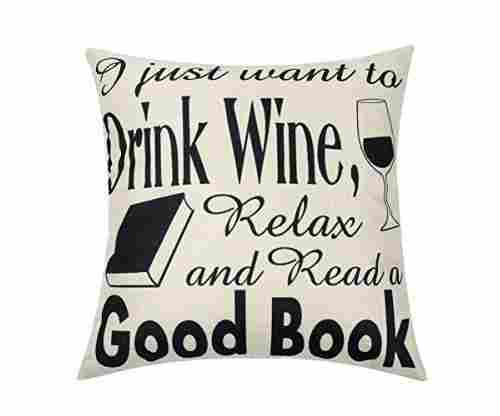I Just Want To Read A Good Book Pillow Case
