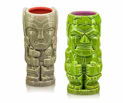 Thor and Hulk Geeki Tiki Marvel Two Pack