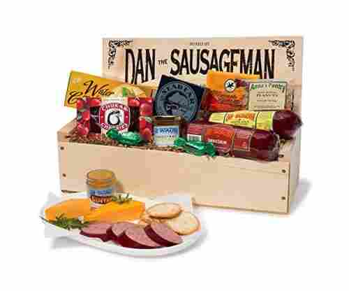 Dan the Sausageman's Favorite Gourmet Basket
