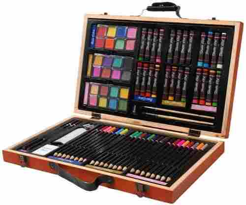 Darice 80 Piece Deluxe Art Set