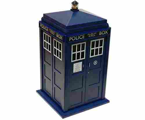 Doctor Who Tardis Cookie Jar With Lights