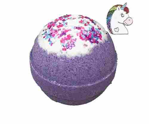 Unicorn Bath Bomb With Surprise Necklace