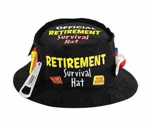 Amscan Fun-Filled Retirement Survival Hat