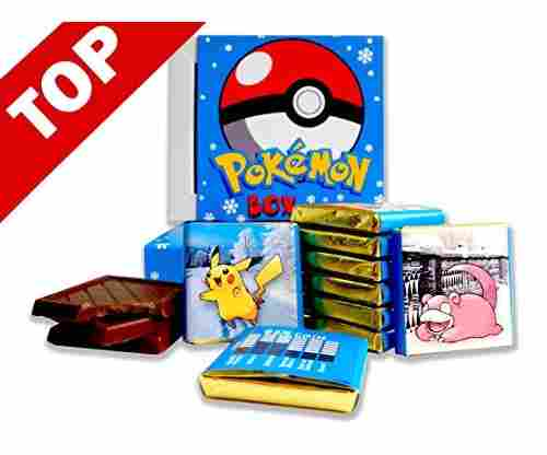 Pokemon Box With Chocolate