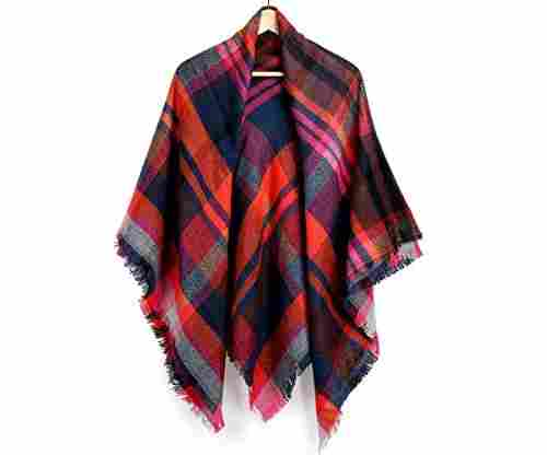 Oct17 Plaid Scarfs for Women