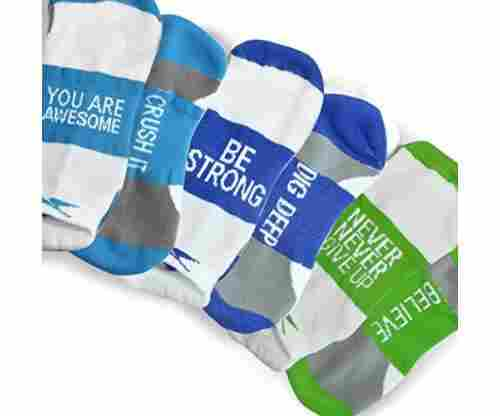 Inspirational Athletic Running Socks