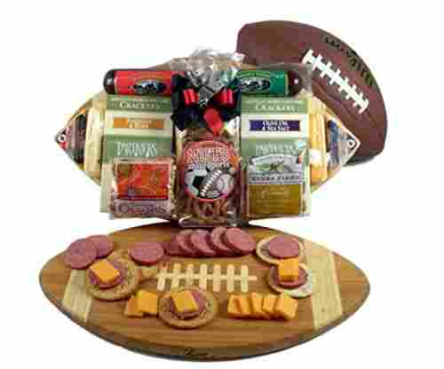 Eco-Friendly Bamboo Football Cutting Board