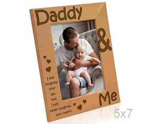 Kate Posh – Daddy & Me Picture Frame