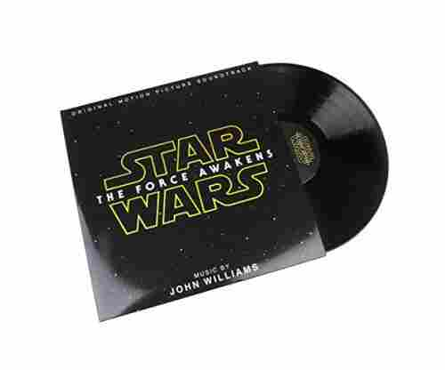 John Williams: Star Wars The Force Awakens Soundtrack on Holographic Vinyl