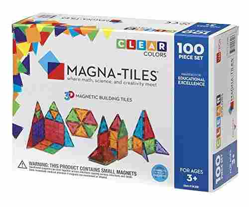 Magna-Tiles 3-D Magnetic Building Tiles