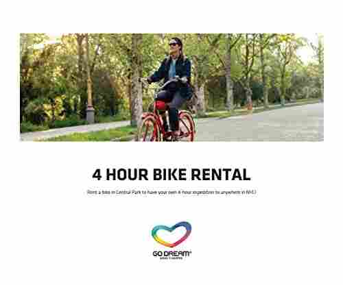 4 Hours Bike Rental in New York Gift Card