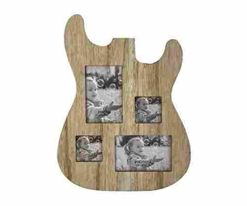 Rise8 Studios Guitar Body Shaped Music Wooden Picture Frame