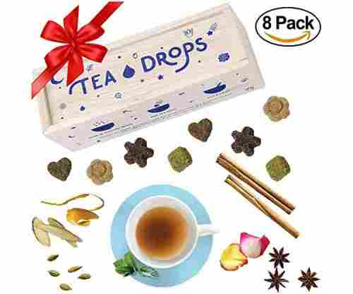 Tea Drops Instant Organic Pressed Teas